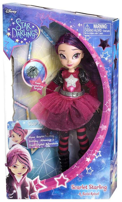 Disney Star Darlings Starland Fashion Scarlet Starling 10.5-Inch Deluxe Doll