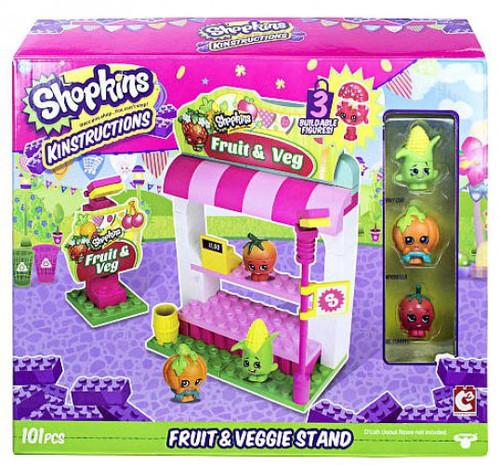 Shopkins Kinstructions Fruit & Veggie Stand Building Set