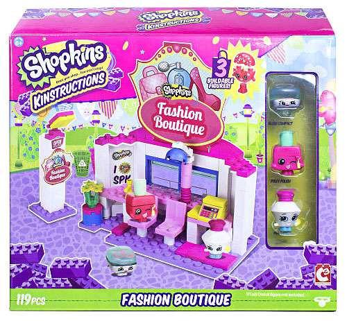Shopkins Kinstructions Fashion Boutique Building Set