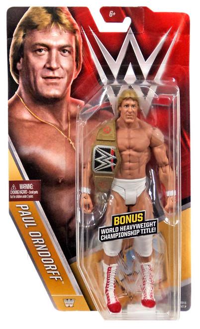 WWE Wrestling Series 58 Paul Orndorff Action Figure [World Heavyweight Championship Title]