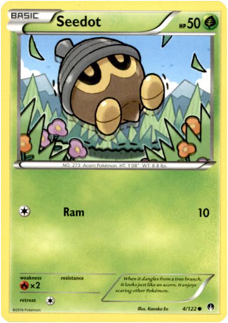 Pokemon X & Y BREAKpoint Common Seedot #4