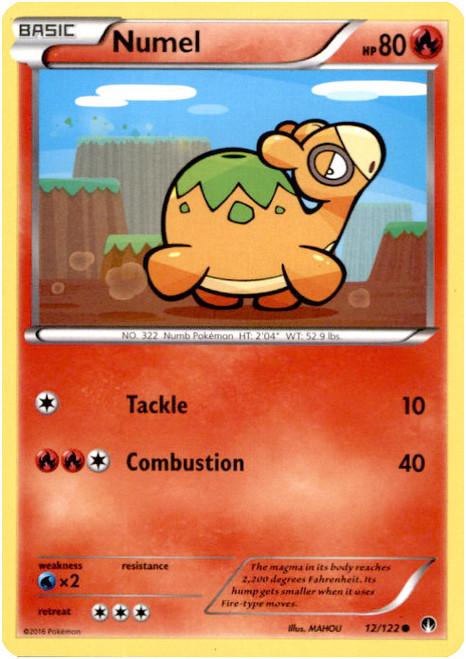 Pokemon X & Y BREAKpoint Common Numel #12