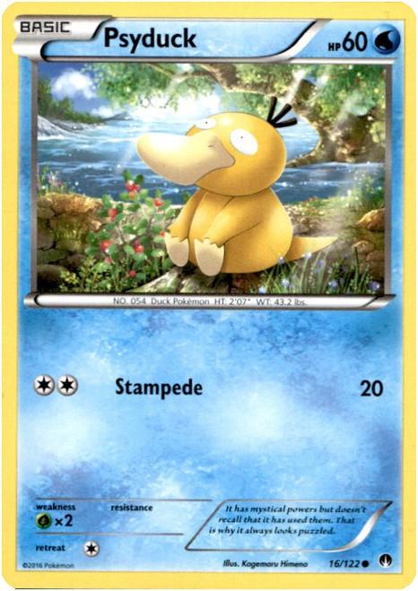 Pokemon X & Y BREAKpoint Common Psyduck #16
