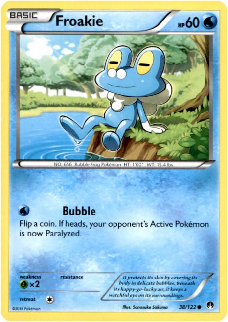 Pokemon X & Y BREAKpoint Common Froakie #38