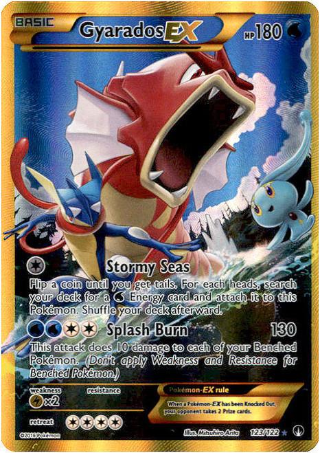 Pokemon X & Y BREAKpoint Secret Rare Gyarados EX #123