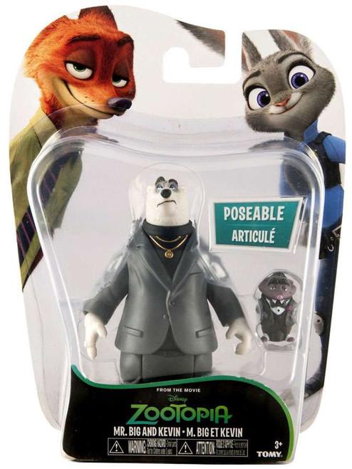 Disney Zootopia Mr. Big & Kevin Mini Figure 2-Pack