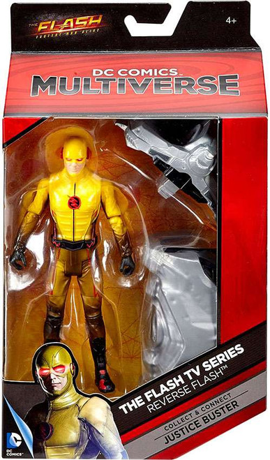 DC Flash TV Series Multiverse Justice Buster Series Reverse Flash Action Figure