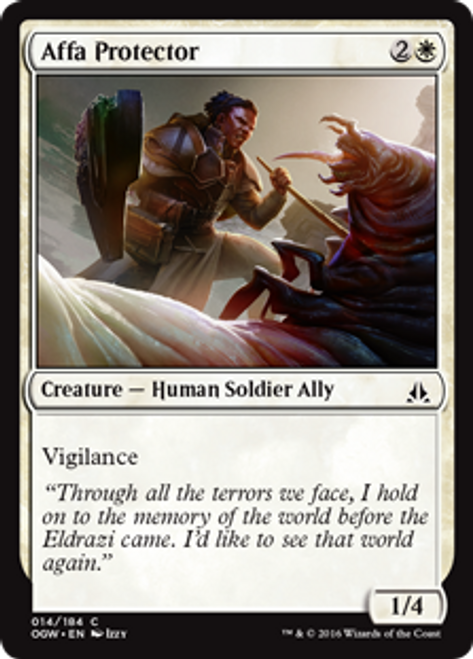 MtG Oath of the Gatewatch Common Affa Protector #14