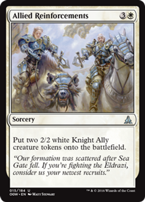MtG Oath of the Gatewatch Uncommon Allied Reinforcements #15