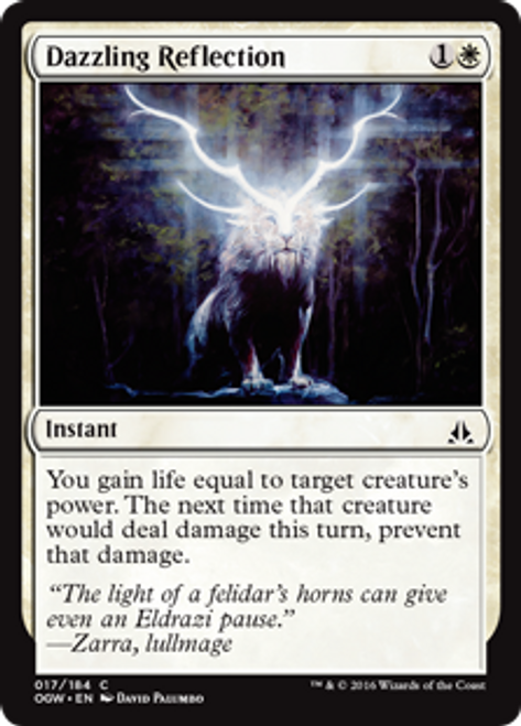 MtG Oath of the Gatewatch Common Dazzling Reflection #17
