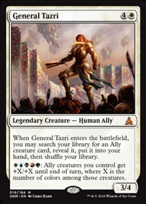 MtG Oath of the Gatewatch Mythic Rare General Tazri #19