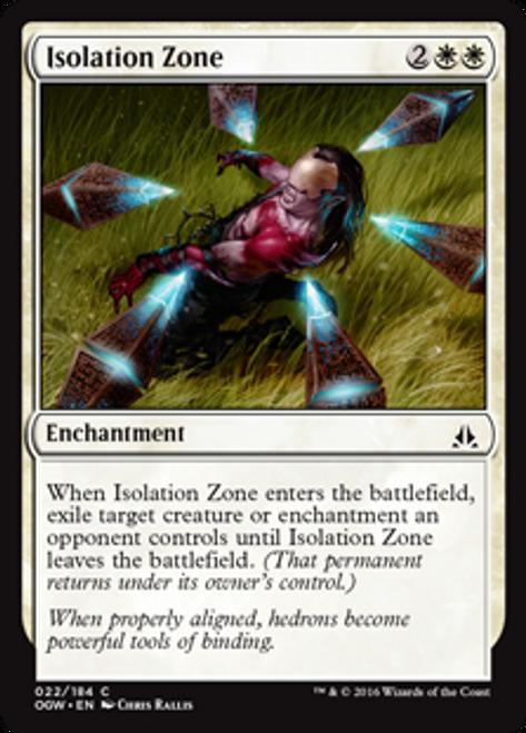 MtG Oath of the Gatewatch Common Isolation Zone #22