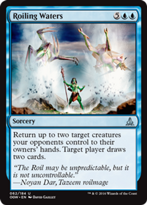 MtG Oath of the Gatewatch Uncommon Roiling Waters #62