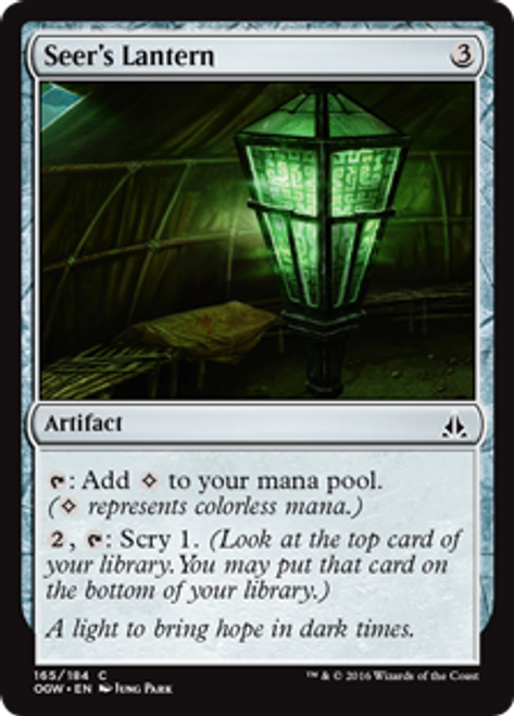 MtG Oath of the Gatewatch Common Seer's Lantern #165