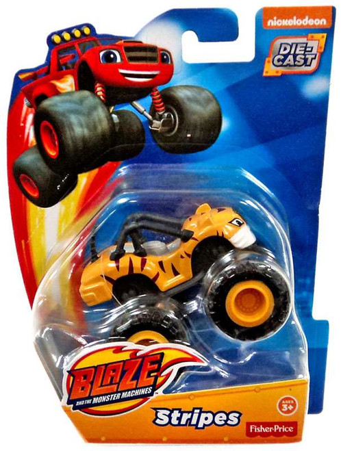 Fisher Price Blaze & the Monster Machines Stripes Diecast Car