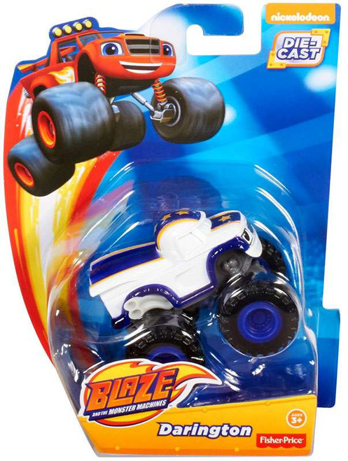 Fisher Price Blaze & the Monster Machines Darington Diecast Car