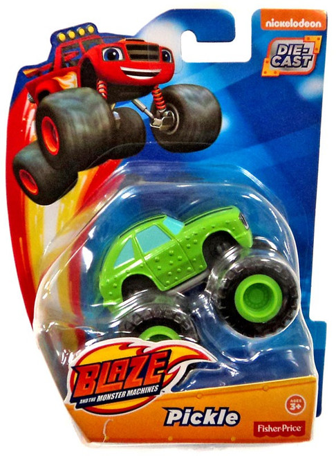 Fisher Price Blaze & the Monster Machines Pickle Diecast Car