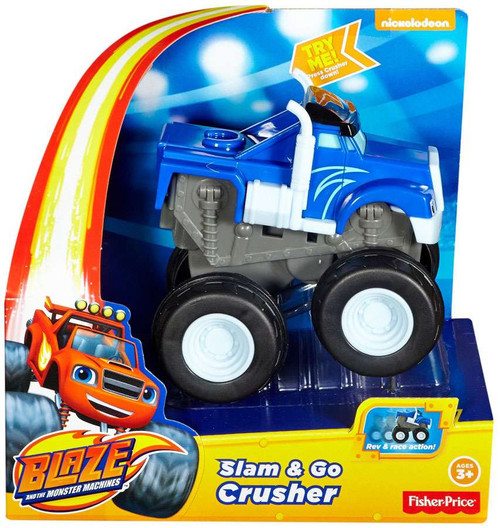 Fisher Price Blaze & the Monster Machines Slam & Go Crusher Vehicle