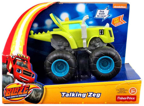 Fisher Price Blaze & the Monster Machines Talking Zeg