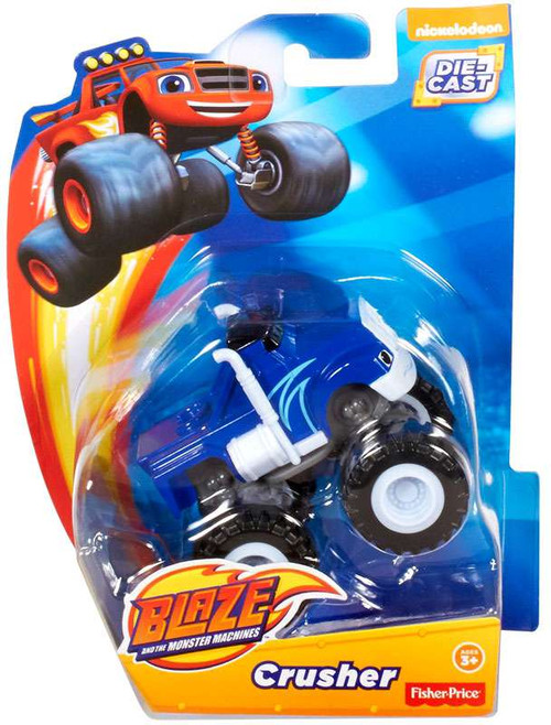 Fisher Price Blaze & the Monster Machines Crusher Diecast Car