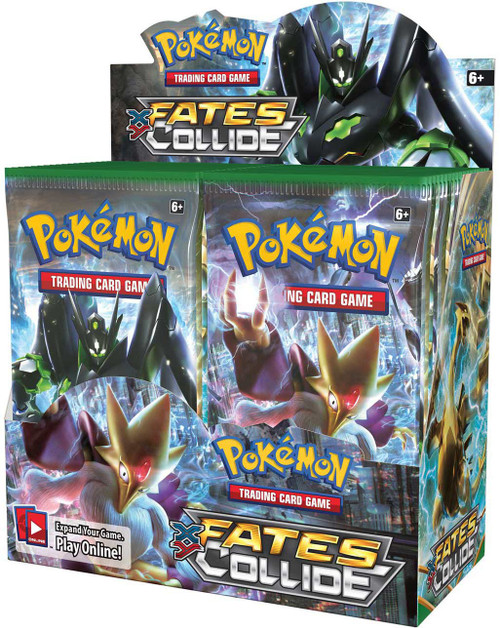 Pokemon Trading Card Game XY Fates Collide Booster Box [36 Packs]