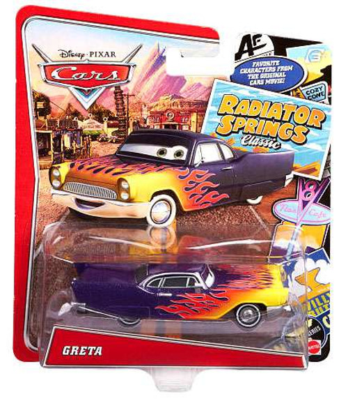 Disney / Pixar Cars Radiator Springs Classic Greta Diecast Car