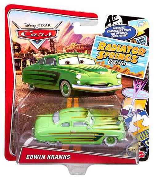 Disney / Pixar Cars Radiator Springs Classic Edwin Kranks Diecast Car