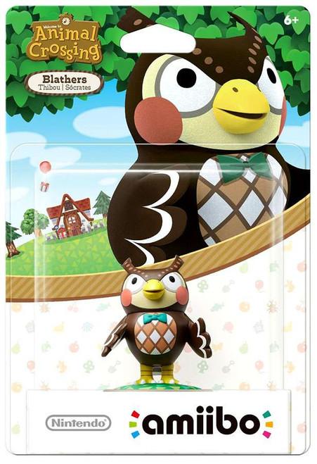 Nintendo Animal Crossing Amiibo Blathers Mini Figure