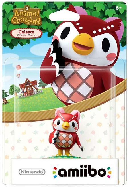 Nintendo Animal Crossing Amiibo Celeste Mini Figure