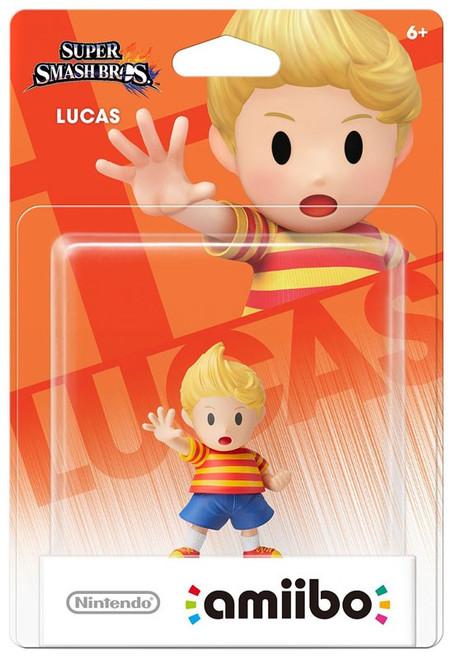 Nintendo Super Smash Bros Amiibo Lucas Mini Figure