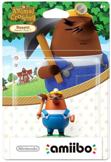 Nintendo Animal Crossing Amiibo Resetti Mini Figure