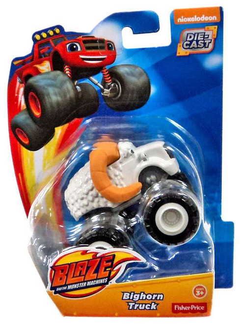 Fisher Price Blaze & the Monster Machines Bighorn Truck Diecast Car