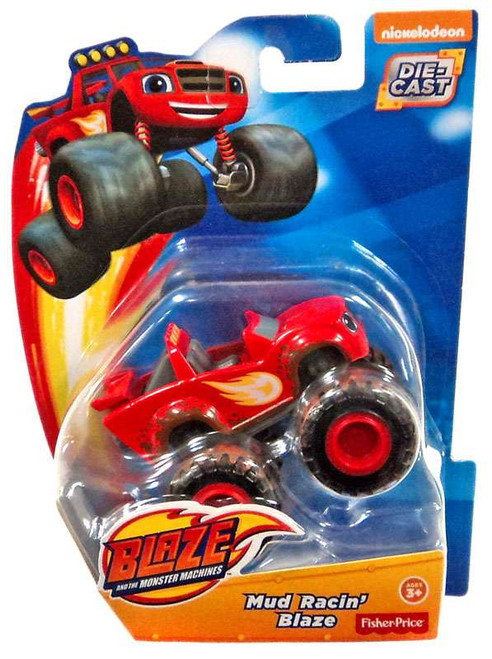 Fisher Price Blaze & the Monster Machines Mud Racin' Blaze Diecast Car