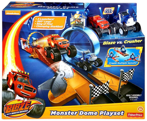 Fisher Price Blaze & the Monster Machines Monster Dome Playset