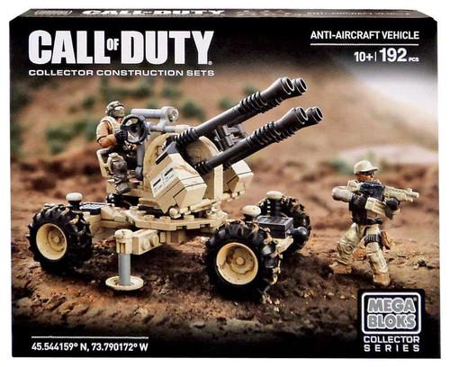 Mega Bloks Call of Duty Anti-Aircraft Vehicle Set #25108