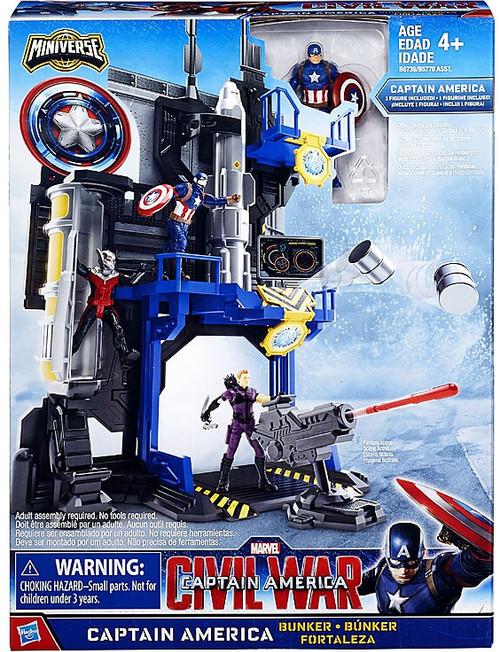 Civil War Captain America Bunker 2.5-Inch Playset
