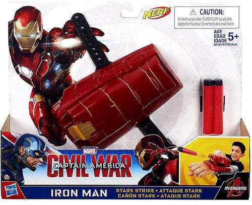 Captain America Civil War Iron Man Stark Strike Roleplay Toy