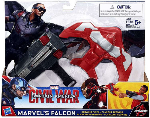 Civil War Marvel's Falcon Redwing Flyer Roleplay Toy