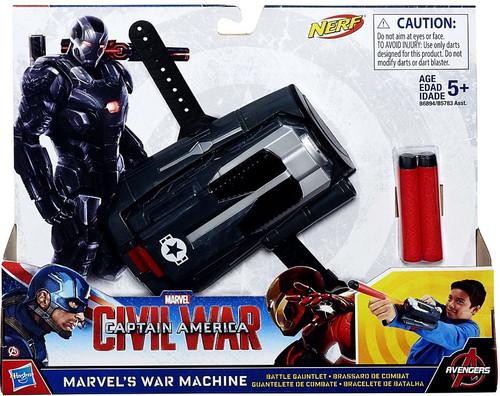 Marvel Civil War War Machine Battle Gauntlet Roleplay Toy