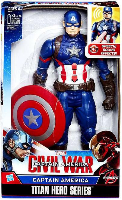 Civil War Captain America Titan Action Figure [Civil War]