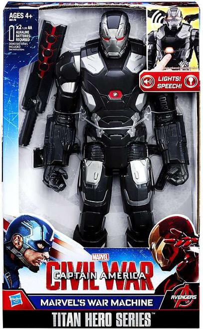 Captain America Civil War Marvel's War Machine Electronic Titan Action Figure [Civil War]