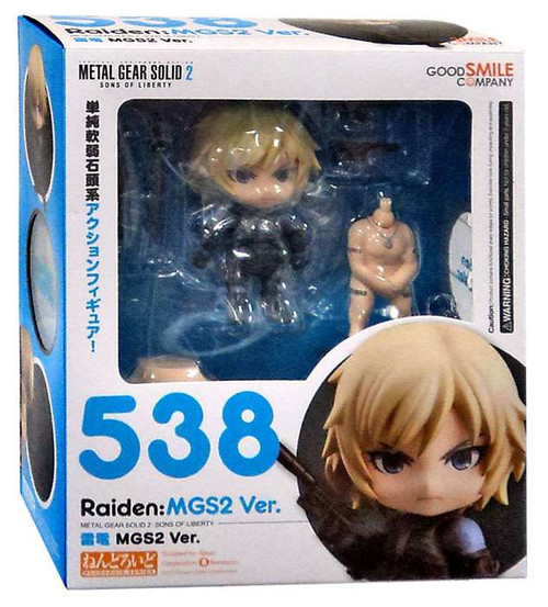 Metal Gear Solid 2 Sons of Liberty Nendoroid Raiden: MGS2 Ver. Action Figure