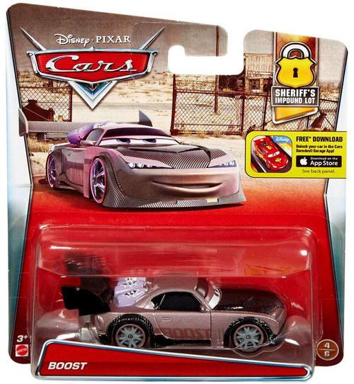 Disney / Pixar Cars Sheriff's Impound Lot Boost Diecast Car #4/6