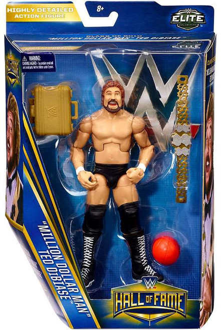 WWE Wrestling Elite Collection Hall of Fame Ted Dibiase Exclusive Action Figure [Million Dollar Man]