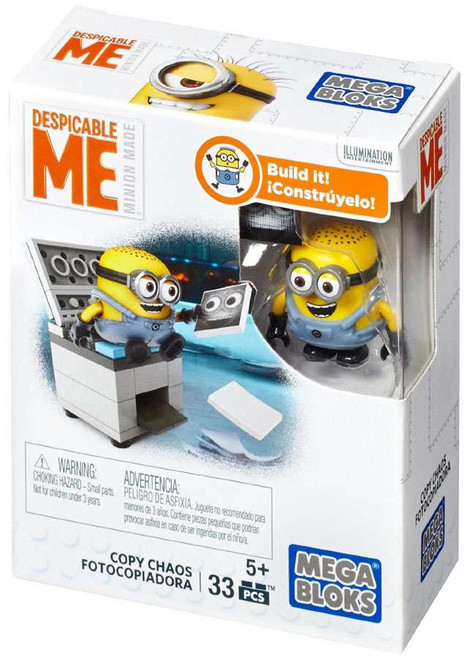 Mega Bloks Despicable Me Minion Made Copy Chaos Set #25226