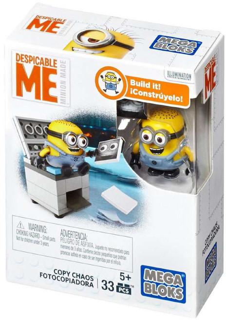 Mega Bloks Despicable Me Minion Made Copy Chaos Set #25226