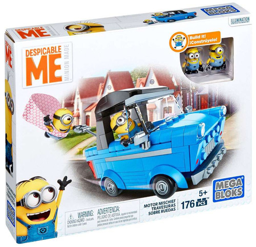 Mega Bloks Despicable Me Minion Made Motor Mischief Set #24904