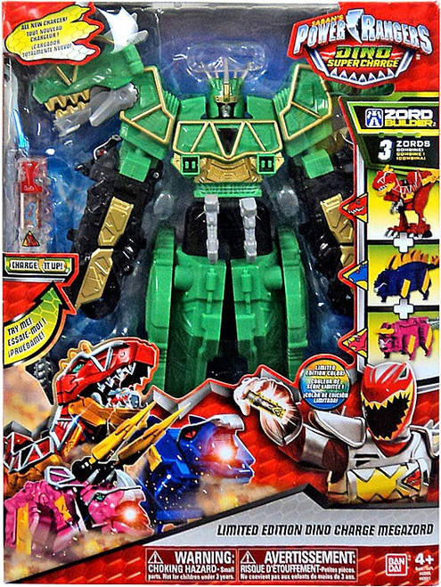 Power Rangers Dino Super Charge Limited Edition Dino Charge Megazord Action Figure