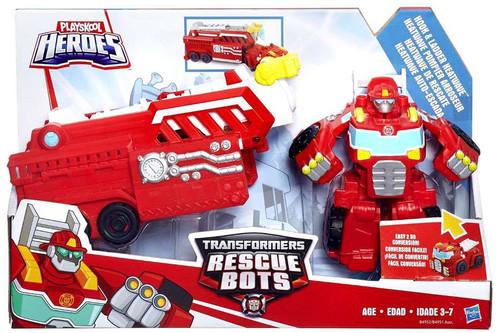 Transformers Playskool Heroes Rescue Bots Hook & Ladder Heatwave Playset