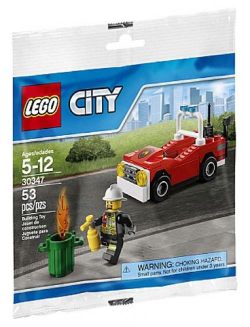 LEGO City Fire Car Mini Set #30347 [Bagged]